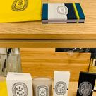 NWT Diptyque set Brand new Diptyque set of 1 small amber color tote 2 35g Fry de Bois candle 3. 2 ml L'eau des hesperides 4. 2 ml Eau capitale 5. Scented matches diptyque Other