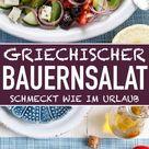 Griechischer Bauernsalat - so schnell und einfach