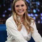 Elizabeth Olsen at 'Late Night With Jimmy Fallon' in NYC
