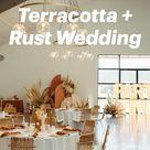 Modern Boho Terracotta + Rust Wedding