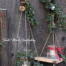 Minischaukeln für den Garten DIY (Tante Malis Gartenblog)