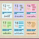 Ergänzung DAZ Zahlenkarten bis 20 - Frau Locke