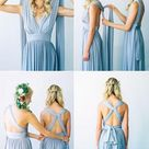 Convertible Bridesmaid Dresses,Blue Bridesmaid Dresses,Long Bridesmaid Dresses,Infinite Bridesmaid Dresses,Fs007