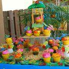 Luau Pool Parties