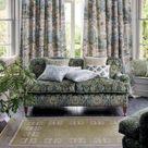 GP & J Baker - Lapura Damask Fabric - Dove