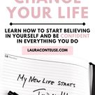 Personal Growth Tips to Change Your Life, Start Believing in Yourself & Be Confident in Yourself