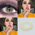 Colored Contact Lenses Yearly Use Cosmetic Contact-lens