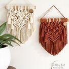 Macrame Wall Hanging  Custom Macrame  Boho Decor  Holiday | Etsy