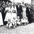 The wedding of Princess Barbara of Prussia and Duke Christian Ludwig of Mecklenburg
