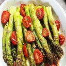 Grüner Spargel aus dem Ofen mit Parmesan   Lydiasfoodblog