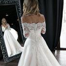 Olivia off the Shoulder Wedding Dress by Olivia Bottega  off | Etsy