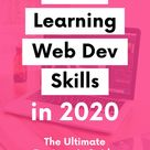 The Best Way to Learn Web Development in 2020 The Ultimate Guide