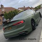 Audi A5/S5/RS5 2017 2021 B9/B9.5 Carbon Fiber Trunk Lip HighKick Version