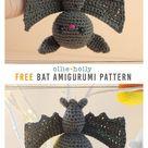 Free Halloween Bat Ornament Amigurumi Crochet Pattern   Ollie + Holly   Amigurumi Crochet Patterns