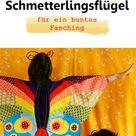 Out Now Schmetterlingsflügel Schnittmuster und Nähanleitung   Frau Scheiner