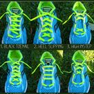 Running Shoes Lacing