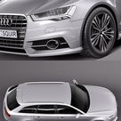 Download Audi A6 Avant 2015 3D Model   DesireFX.COM