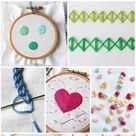 20 Easy Embroidery Stitches Every Embroiderer Should Master - Ideal Me