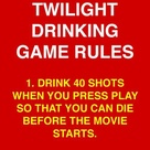Movie Drinking Games
