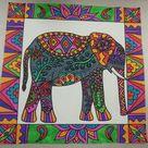 Elephant art - fourth grade