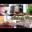 My Kitchen tour||Kitchen arrangement||kitchen setup vlog||kitchen tour in malayalam||Shadiya's vlogs