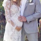 18 Maternity Wedding Dresses For Moms-To-Be