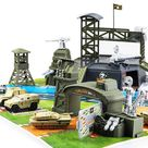 34 Pieces Military Base Set*