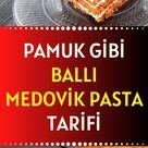 Pamuk Gibi Ballı Medovik Pasta Tarifi