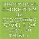 Conditional (ternary) operator - JavaScript | MDN