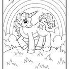 Kleurplaat Eenhoorn | Download gratis eenhoorn kleurplaten
