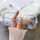 2.9US $ 71% OFF|High Quality Blue Light Blocking Glasses Luxury Rhinestone Reading Glasses Anti fatigue Eye Protection Eyeglasses Optical Lens|Women's Blue Light Blocking Glasses|   - AliExpress