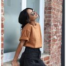 From flowy chiffon to black jeans skirts, unlimited options. ... Free Falling Skirt. #skirt #smallbusiness (PaidLink)...