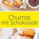 Churros mit Schokolade