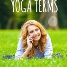 Yoga Terms