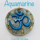 Aquamarine   symbol om  calms mental stress