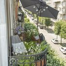 Kleinen Stadt-Balkon gestalten: Preiswerte Ideen zum Nachmachen