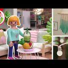 Playmobil Familie Hauser   Wohnhaus sommerlich einrichten   Pimp my PLAYMOBIL