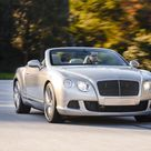 2014 Bentley Continental GT Speed Convertible Extreme Silver   Front