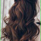 43 Gorgeous Half Up Half Down Hairstyles   Hair styles, Wedding hairstyles for long hair, Down hairs