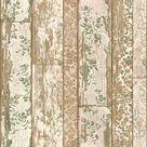 A.S. Création Vliestapete Neue Bude 2.0 Tapete in Holzoptik Holzplanken beige, braun, grün - Livingwalls