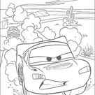 Lightning mcqueen racing coloring pages - Hellokids.com