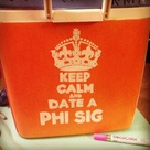 Painted Fraternity Coolers