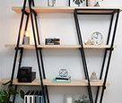 D.I.Y. industrial kitchen shelves