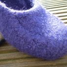 Felted Slippers Pattern