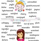 All Feelings Synonyms Posters - Pack