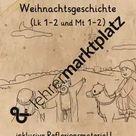 Leseheft zur Weihnachtsgeschichte / Weihnachten (mit Ausmalbildern) Reli-Büchlein – Unterrichtsmaterial in den Fächern Ethik & Fachübergreifendes