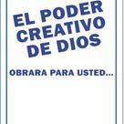 El Poder Creativo de Dios