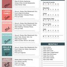 FREE Easy Cleaning Schedule Checklist!