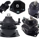 ENA Engine Motor and Trans Mount Set of 5 Compatible with Acura 2004 2005 2006 TL 3.2L Auto Transmission Replacement for A4526 A4517 A4527 A4544 A4524 - Black