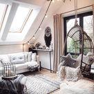 Wohnzimmer Dach Deko